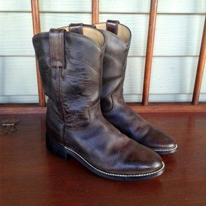 Justin kid western boots size 1D